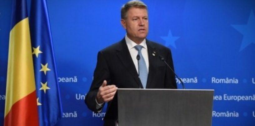 Klaus Iohannis a făcut anunțul privind referendumul pe justiție