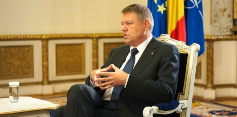 """Klaus Iohannis cere consultări pe referendum. """"O moțiune de cenzură rapid"""""""