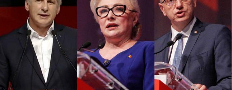 Un trio formidabil la conducerea PSD: Dăncilă, Teodorovici, Fifor