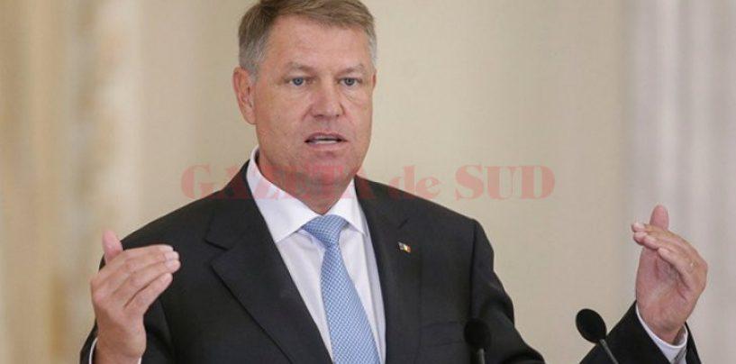 Iohannis pune capăt speculațiilor: Vreau să fiu președintele României, nu al Consiliului European