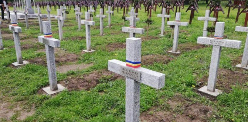 Ungurii au blocat accesul în cimitirul de la Valea Uzului. Românii au intrat cu forța
