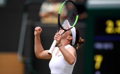 Simona Halep, în finală la Wimbledon