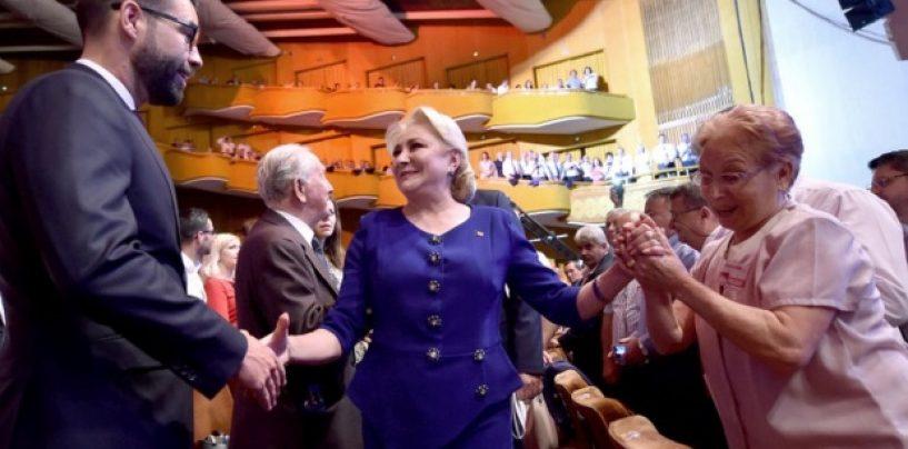 Viorica Dăncilă, candidatul PSD la alegerile prezidențiale