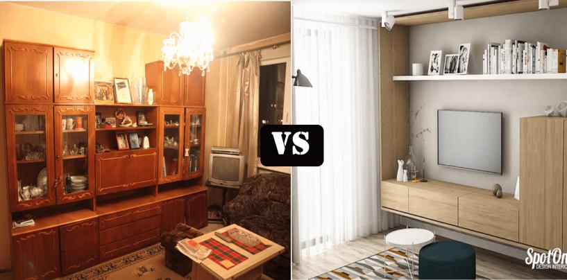 Apartamentele din Comunism vs. Apartamentele din ziua de azi: Tu de care te simți mai atașat?