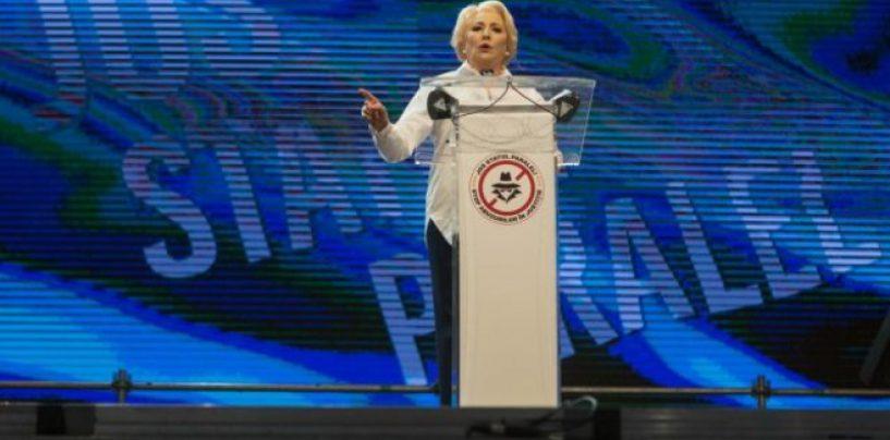 Viorica, alesul unanim al PSD pentru prezidențiale: Sunt mai puternică decât acești bărbați