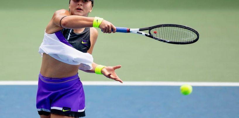 Bianca Andreescu s-a calificat în semifinalele US Open