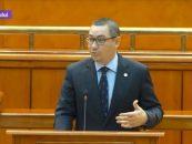 În regimul PNL. Victor Ponta, președinte al Camerei Deputaților?