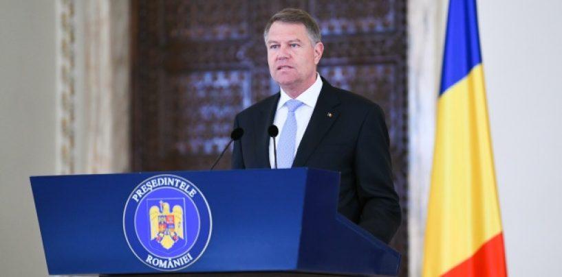 Klaus Iohannis: Cea mai bună soluție o reprezintă alegerile anticipate