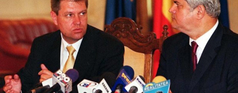 Ipocrizia prezidențială. Cum a colaborat Klaus Iohannis cu Adrian Năstase