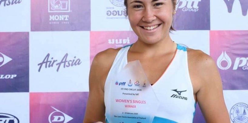 Primul trofeu ITF de 25,000 de dolari pentru Irina Fetecău, un motiv pentru ridicarea ștachetei!