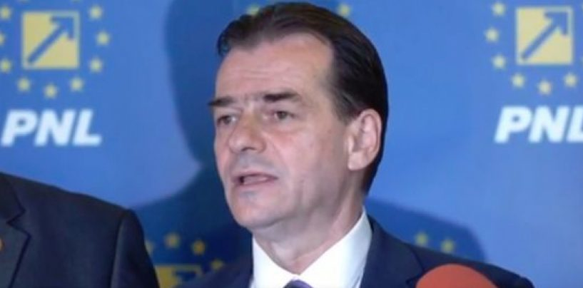 Iresponsabilitatea premierului. Orban a anunțat într-o conferință de presă că este suspect de covid 19