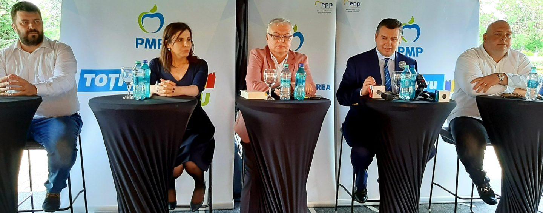 """Scandal în PMP: """"Securistul"""" Turcescu versus """"traseistul"""" Mocanu"""