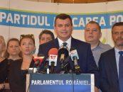 PMP nu a intrat în Parlament. Eugen Tomac și-a dat demisia din fruntea partidului