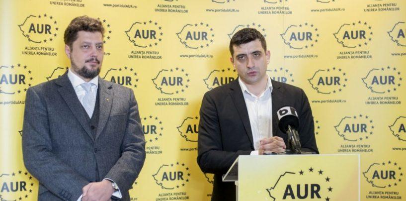 România de AUR. 15 000 de români s-au înscris, în ultimele ore, în partidul lui George Simion