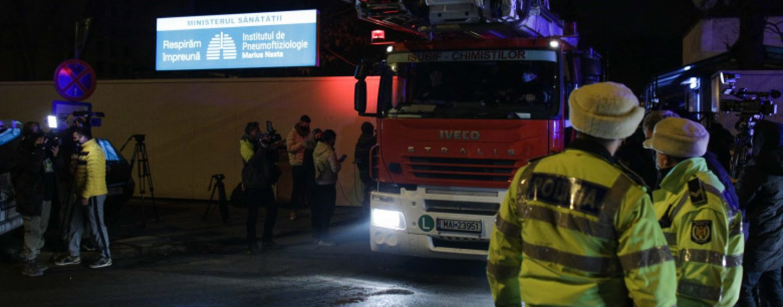 Incendiul de la Institutul Marius Nasta. Pompierul de serviciu se află în concediu de 6 luni