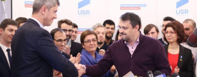 Monstruoasa coaliție. USR se aliază cu AUR și PSD pentru a dărâma Guvernul Cîțu