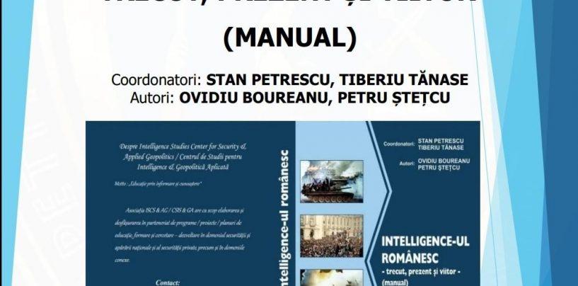 Aviz ofițerului de informații! S-a lansat manualul intelligence-ului românesc