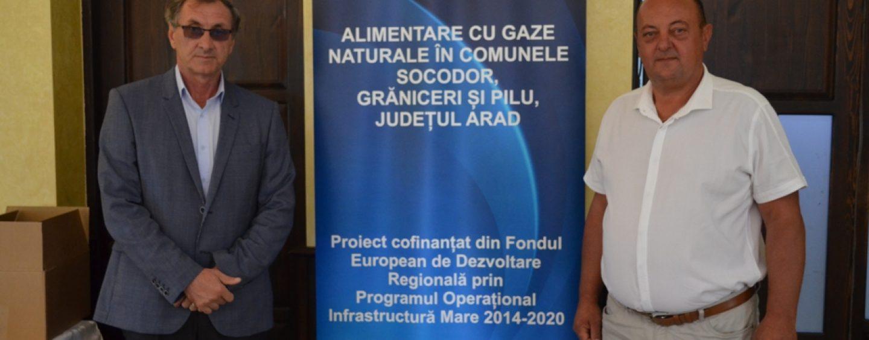 Alimentare cu gaze naturale în comunele Socodor, Grăniceri și Pilu, din Județul Arad