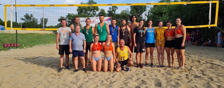 Open-ul Sportsin la volei pe plajă a ajuns la final!