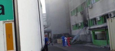România, în flăcări. Cel puțin 8 persoane au murit la Spitalul de covid Constanța